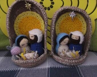 Amigurumi Nativity Español : Nativity sets etsy ca