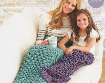 Sirdar (7907) Hayfield Mermaids Tail Crochet Pattern
