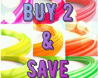 Polypro Hula Hoops, Buy 2 and Save