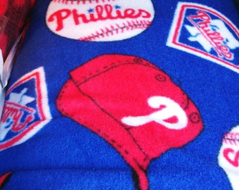 Phillies twin size blanket