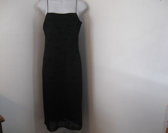 Little Black Dress with Spaghetti Straps size Large by Byer Too!