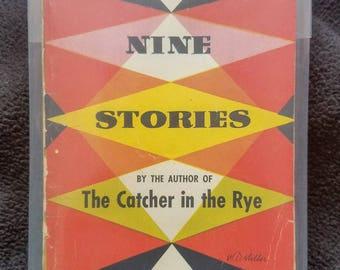 Nine Stories (1954) by J. D. Salinger, First Paperback Printing