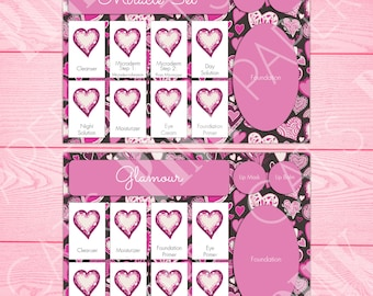 Tray Inserts | Hearts | Miracle Set | Glamour Set