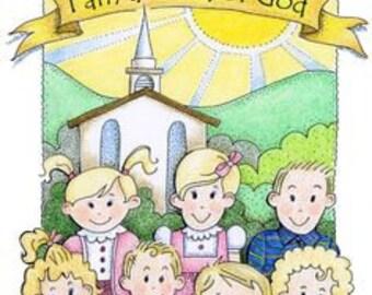 "Complete 2018 Primary Program Script ""I am a Child of God"" LDS Mormon"