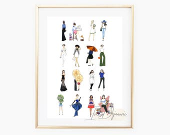 Fashion lovers Print