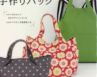 Cute and Easy Handmade Bags - Japanese Craft Book