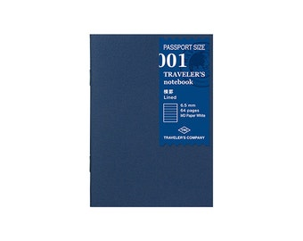 TN Refill - Passport Size - 001 Lined