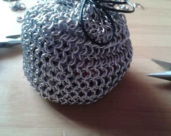 Chain maille dice bag SALE