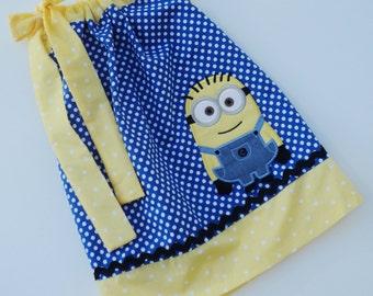 Custom Boutique Minion Inspired Pillowcase dress