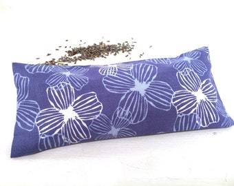 Organic Lavender Eye Pillow, lavender heat pack, aromatherapy gifts, cold pack, meditation, yoga gifts, yoga accessories, restorative gifts
