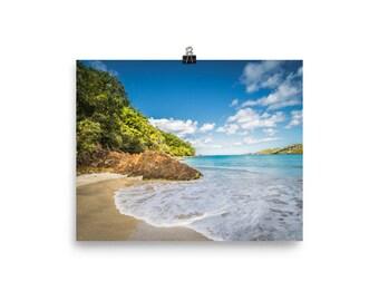 Caribbean Island Print