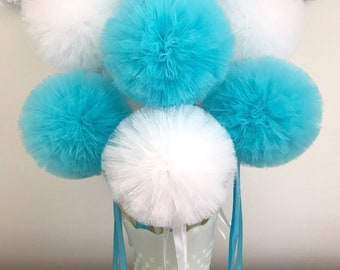 Frozen Birthday Party Favors Party Pom Wands Centerpiece, Frozen Party Favors, Frozen Stocking Stuffers