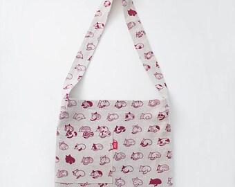 Cat Butts Crossbody Bag