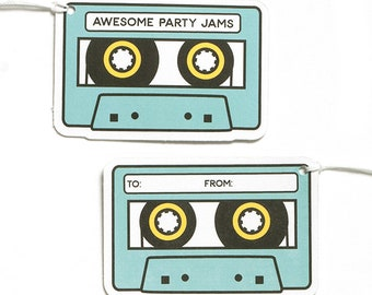 Mixtape Gift Tags
