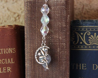 Fairy Bookmark,  Pixie Dust Bookmark, Book Lover, Metal Bookmark, Fairy Bookmark, Teacher Gift, Terrarium, Book Mark, Fairy Tales