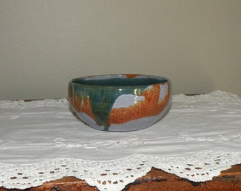 Vintage Small Pottery Bowl