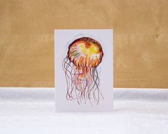 Gentle Jelly: Illustrated Greetings Card