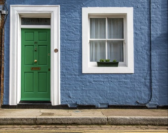 London Photography - Colourful Houses of Chelsea Print