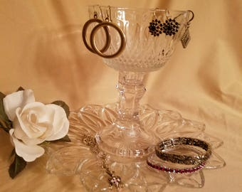 Two Tiered Jewelry Dish