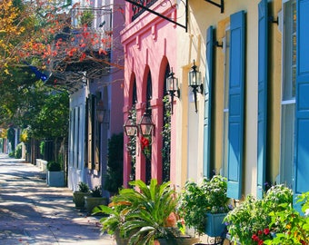Rainbow Row Charleston, SC