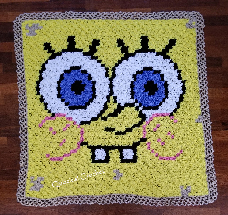 Spongebob Squarepants Corner to Corner Crochet Blanket Pattern from ...