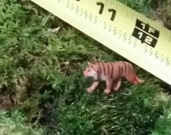 1 Miniature Tiger  fairy garden /fairy zoo/ succulent / terrarium / mini garden