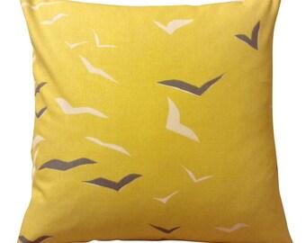 Scion Flight Yellow Cushion Cover