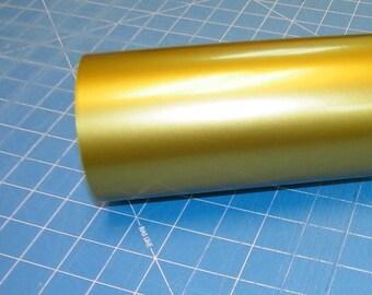 "Gold Oracal 651 12"" x 5' (5 feet) Roll * Sign Vinyl * Decal Vinyl"