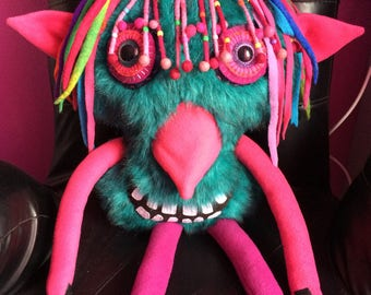 Quirky fun Monster plush COPMONSTER