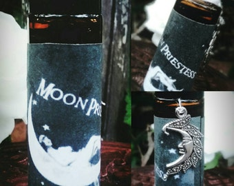 Moon Priestess Perfume  - Made with Essential Oils - Scented Ritual Perfume - Lunar - Aromatherapy- Witchy - Witchcraft - Pagan - Wicca