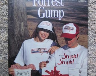 Cross Stitch Leaflet - Forrest Gump - Leisure Arts #2684 - Vintage 1995