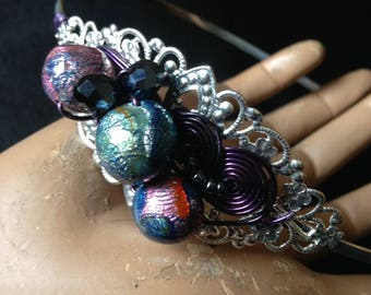 "Headband ""le monde des perles"""
