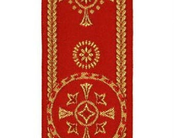 Religious trim for liturgical vestments