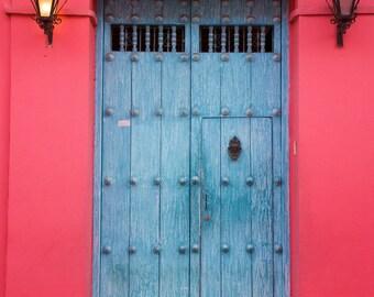 Blue Door Cartagena