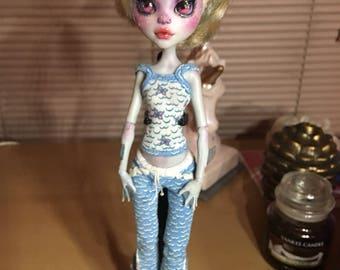 Lagoona Blue OOAK Monster High Doll