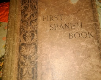 First Spanish Book Worman's Language Series