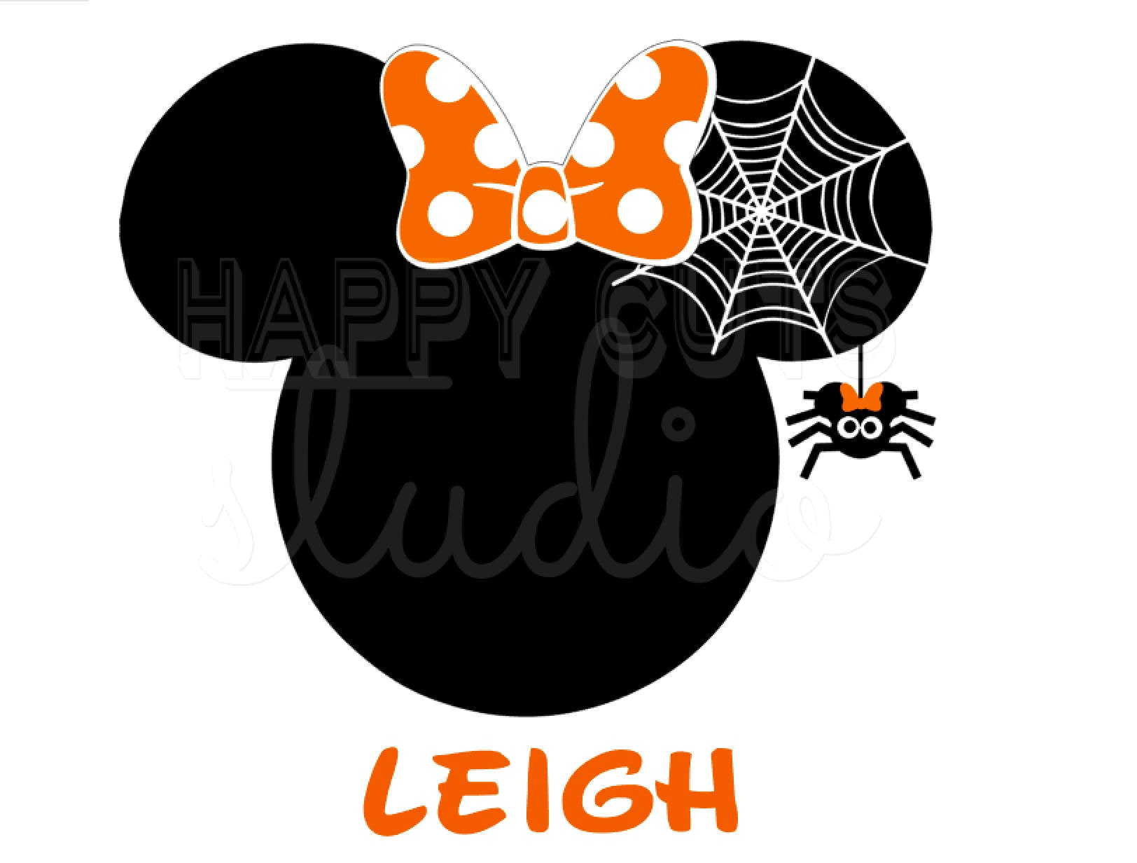 Minnie mouse with spider web halloween mickey mouse disney zoom biocorpaavc
