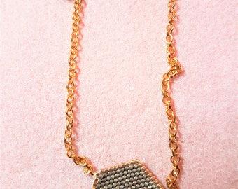 Love letter & hidden Panda necklace