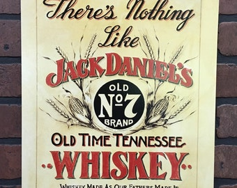 Jack Daniels tin Bar Sign