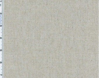 Grey Pearl Slub Linen Home Decorating Fabric, Fabric By The Yard