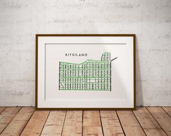 Kitsilano Map