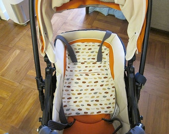 PDF e pattern - Pushchair Liner for baby and toddler