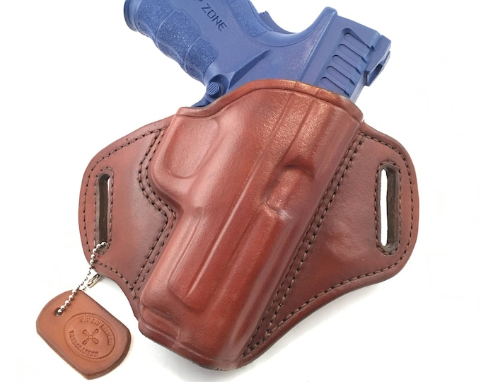 Springfield XD Mod 2 .40/9/.45 Full size - Handcrafted Leather Pistol Holster