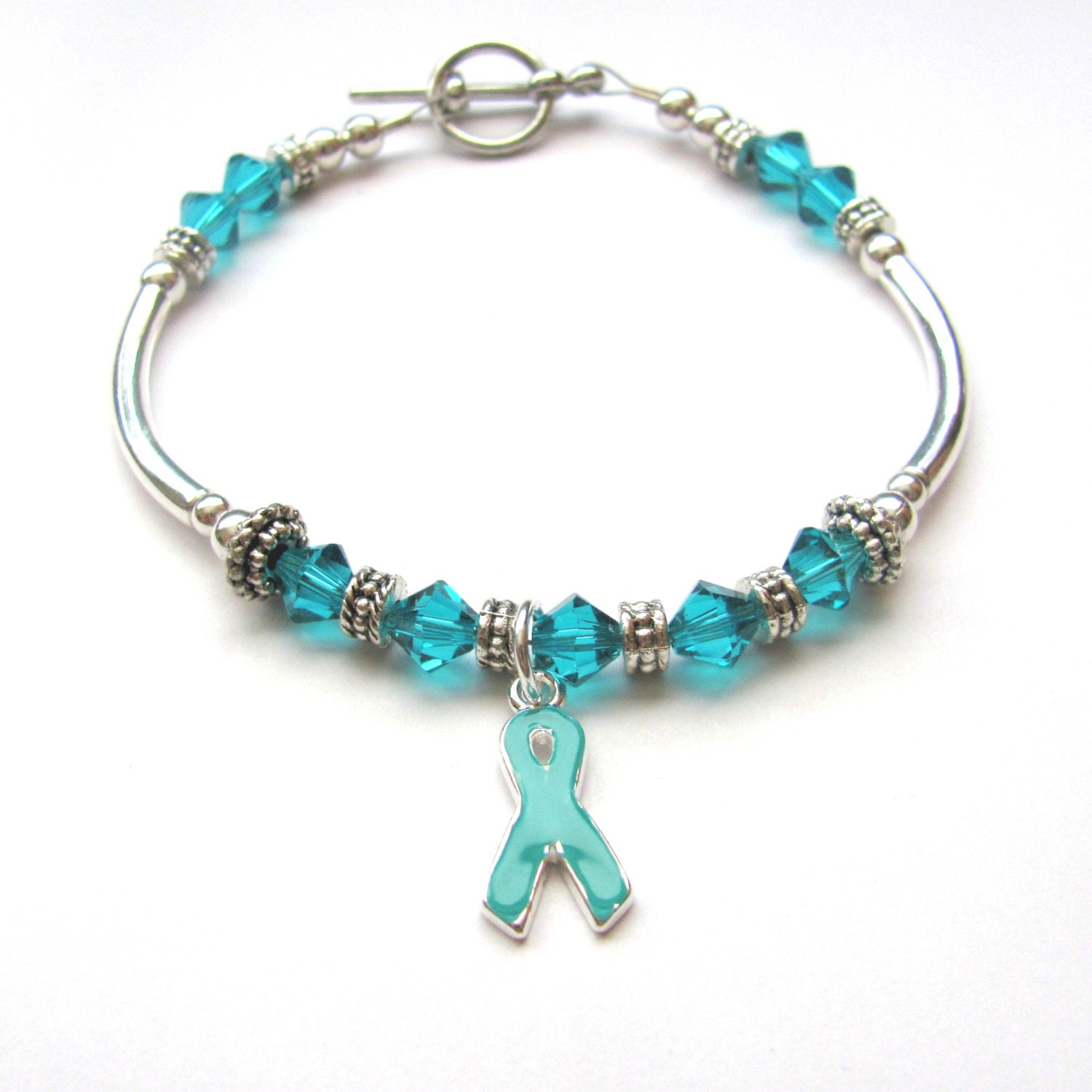 blue charm cancer p colon il fatigue silver fullxfull addiction recovery ribbon colorectal navy chronic bracelet faith