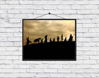 The Lord of the Rings Hobbit unique Poster