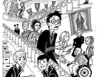 Harry Potter and the Cursed Child - Dramatic Inking