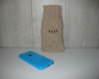 wool OWL phone case