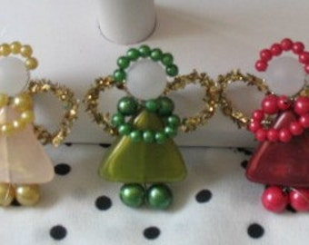 Angel pins and ornaments