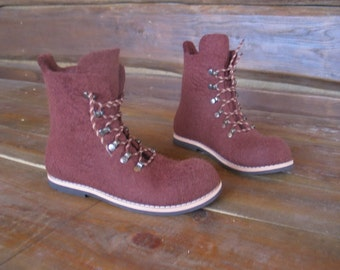 Felted boots TERRANO