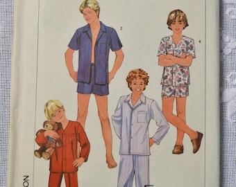 Vintage Simplicity 7678 Sewing Pattern Boys Teen Boys Pajamas Size 18 20 Crafts  DIY Sewing Crafts PanchosPorch
